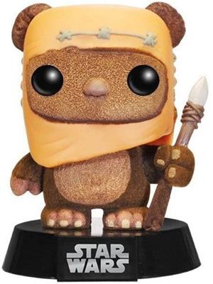 Funko Pop! Star Wars Wicket (Flocked)