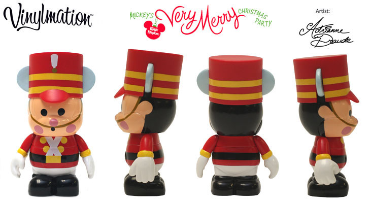 Vinylmation Open And Misc Holiday 2010 Very Merry Toy Soldier