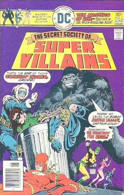 DC Comics Secret Society of Super-Villains (1976 - 1978)