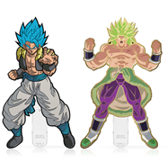 FiGPin Dragon Ball Super Glitter Hair Gogeta & Gold-Plated Broly 2-pack