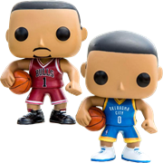 Funko Pop! Sports Derrick Rose vs Russell Westbrook