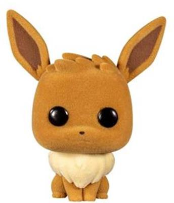 Funko Pop! Games Eevee (Flocked)
