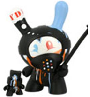 "Kid Robot 8"" Dunnys Tag Team"