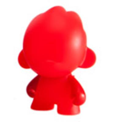 Kid Robot Blind Boxes DIY Micro Foomi Red