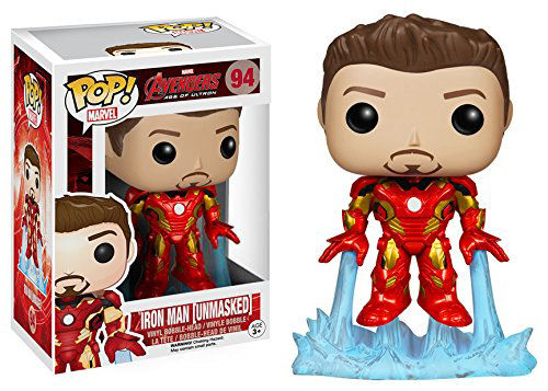Funko Pop! Marvel Iron Man Mark 43 (Avengers 2) (Unmasked) Stock