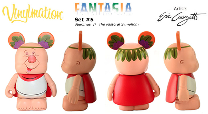 Vinylmation Open And Misc Fantasia Baucchus
