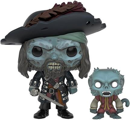 Funko Pop! Disney Barbossa (w/ Monkey) - Cursed