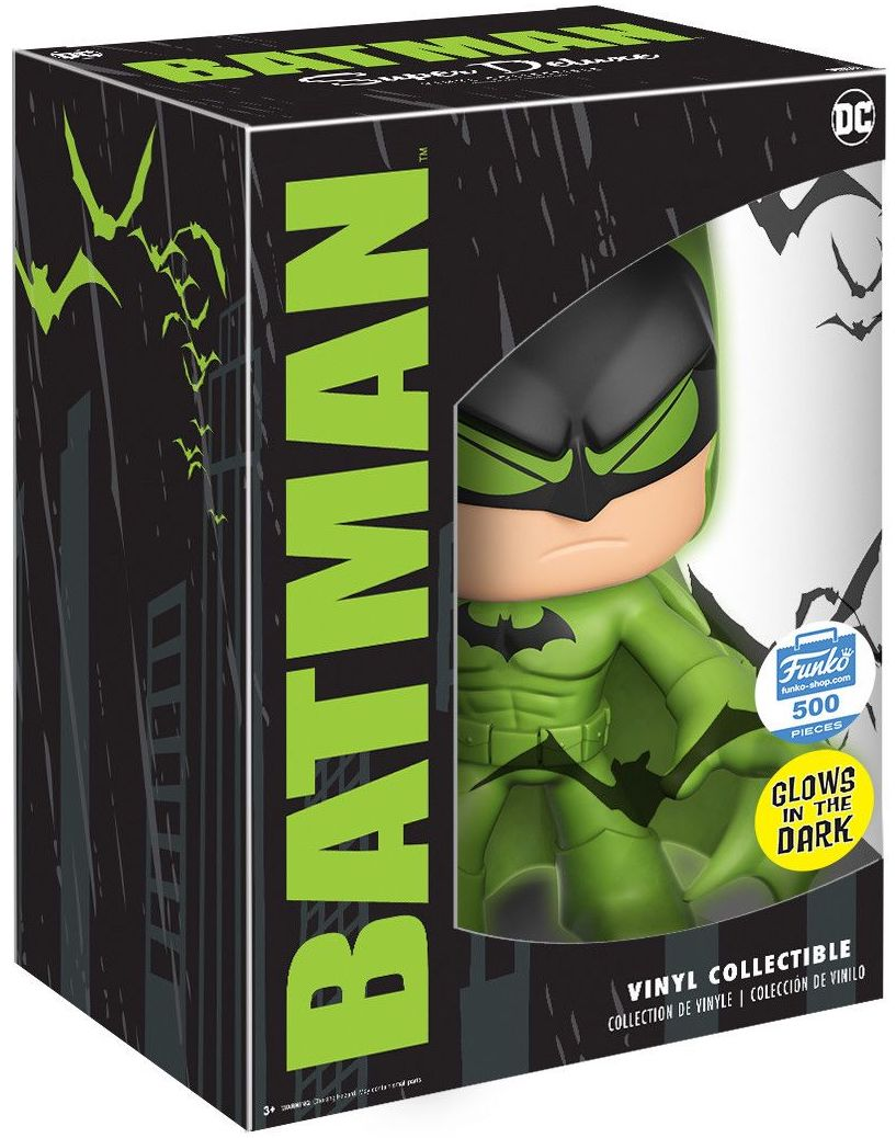 Funko - Other Super Deluxe Batman (Green Glow) Stock