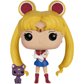 Sailor Moon (w/ Luna)