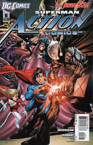 DC Comics Action Comics (2011 - 2016) Action Comics (2011) #6G Stock
