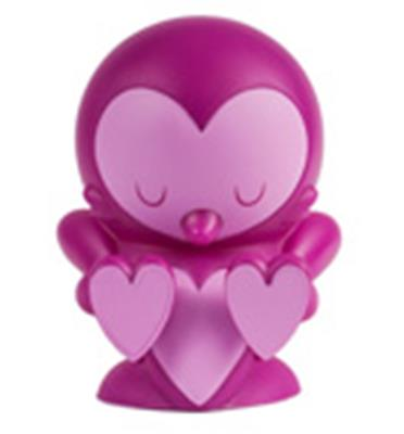 Kid Robot Art Figures Lovebirds: Purple Icon