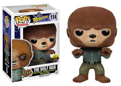 Funko Pop! Movies The Wolf Man (Flocked) Stock
