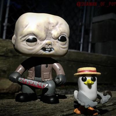 Funko Pop! Movies Jason Voorhees (Unmasked) shaman_of_pop on instagram.com