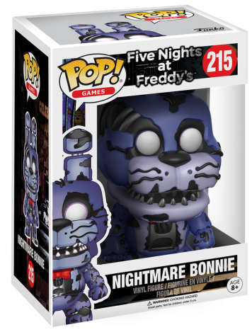 Funko Pop! Games Bonnie (Nightmare) Stock