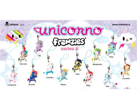 Tokidoki Unicorno Frenzies Series 2 Yuki