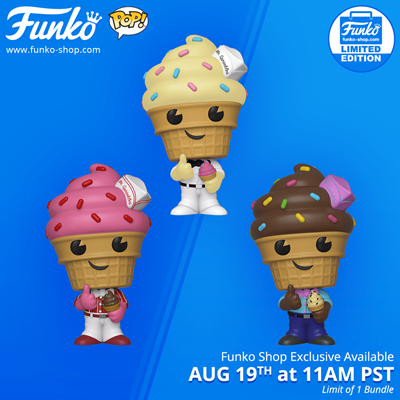Funko Pop! Funko Mr. Sprinkles 3-Pack Stock