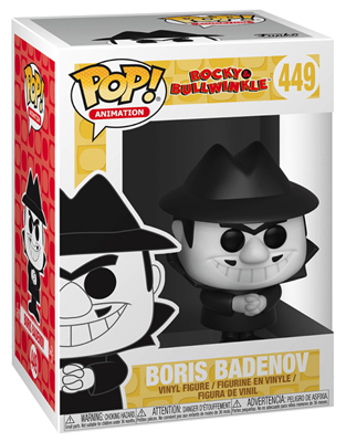 Funko Pop! Animation Boris Badenov Stock Thumb