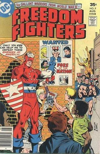DC Comics Freedom Fighters (1976) Freedom Fighters (1976) #9 Stock