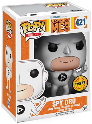 Funko Pop! Movies Gru (Spy) - CHASE Stock Thumb