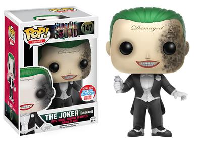 Funko Pop! Heroes The Joker (Suicide Squad) (Grenade Damage) Stock Thumb