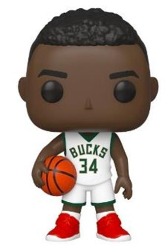 Funko Pop! Sports Giannis Antetokounmpo (White Jersey)