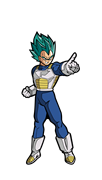 FiGPin Dragon Ball Super Super Saiyan God Super Saiyan Vegeta
