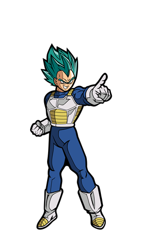 FiGPin Dragon Ball Super Super Saiyan God Super Saiyan Vegeta Icon Thumb
