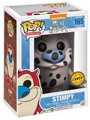 Funko Pop! Animation Stimpy (Fire Dog) - CHASE Stock Thumb