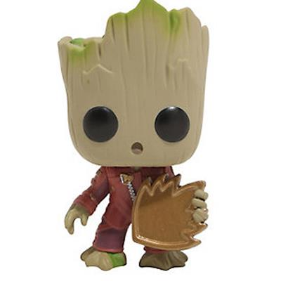 Funko Pop! Marvel Groot (w/ Emblem)