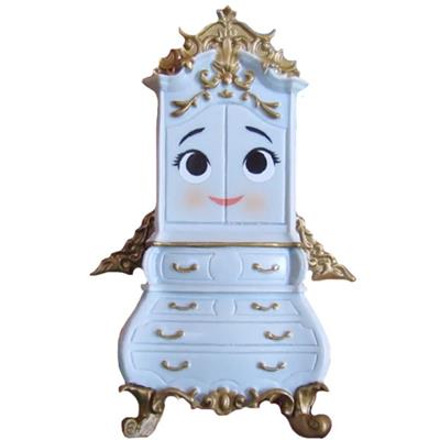 Mystery Minis Beauty and The Beast Garderobe Stock Thumb