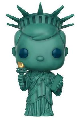 Funko Pop! Freddy Funko Statue of Liberty