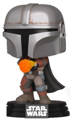 Funko Pop! Star Wars The Mandalorian Flame Throwing
