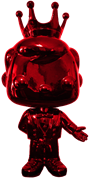 Funko Pop! Freddy Funko Tuxedo Freddy (Chrome-Red)