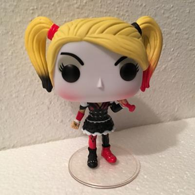 Funko Pop! Heroes Harley Quinn (Arkham Knight) (orion-neos on tumblr.com