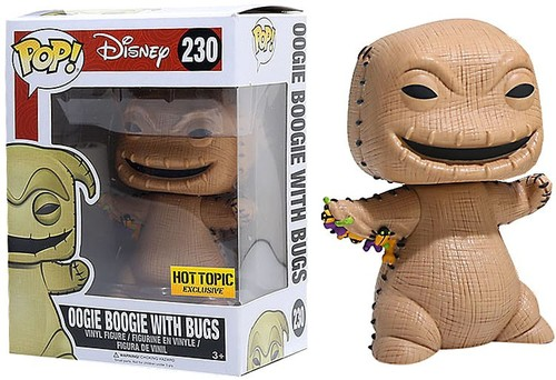 Funko Pop! Disney Oogie Boogie with Bugs Stock