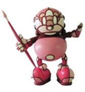Kid Robot Art Figures Kon Artis (Red)
