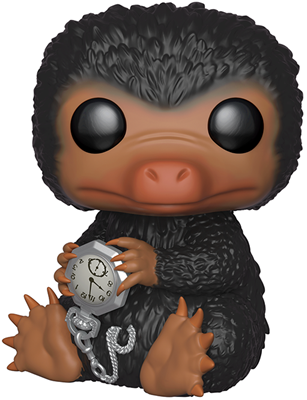 Funko Pop! Fantastic Beasts Niffler (w/ Watch) - 10""