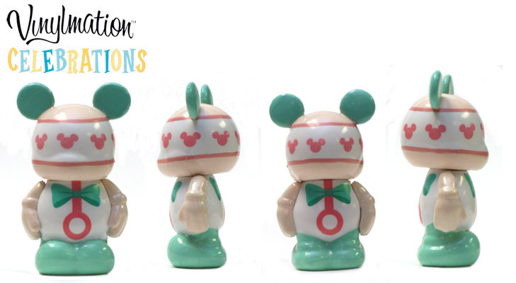 Vinylmation Open And Misc Celebrations Jr Pink Rattle