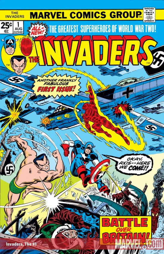 Marvel Comics Invaders (1975 - 1979)