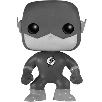 Funko Pop! Heroes The Flash (Black & White) Icon