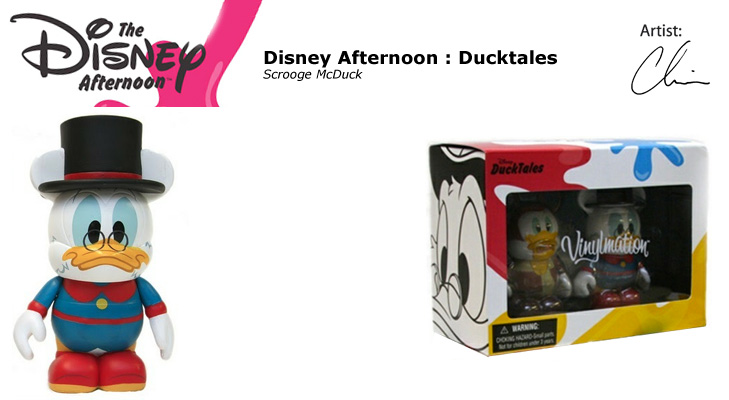Vinylmation Open And Misc Disney Afternoon Scrooge McDuck