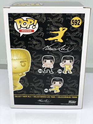 Funko Pop! Movies Bruce Lee (Flying Kick) - GOLD