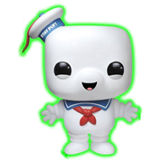 Funko Pop! Movies Stay Puft Marshmallow Man (Glow in the Dark)