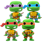 Funko Pop! Television Teenage Mutant Ninja Turtles (4-Pack) - GITD