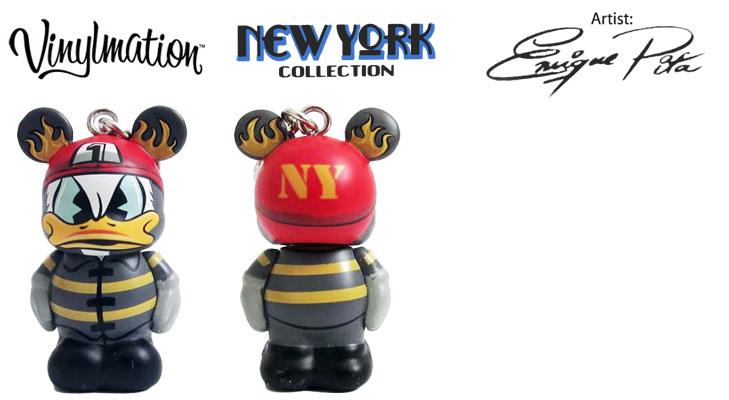 Vinylmation Open And Misc City NYC Fireman Donald Jr.