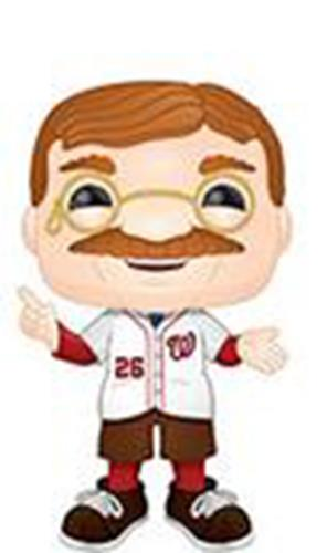 Funko Pop! MLB Washington Nationals Mascot Theodore Roosevelt