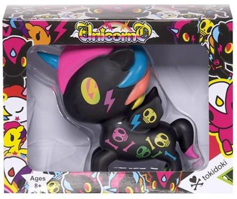 "Tokidoki Unicorno - 5"" Black Neon Stock"