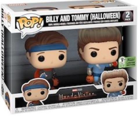 Funko Pop! Marvel Billy and Tommy (Halloween) (2-Pack) Stock
