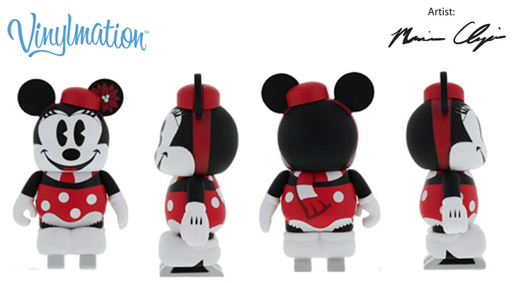 Vinylmation Open And Misc Ice Skating Minnie Mouse