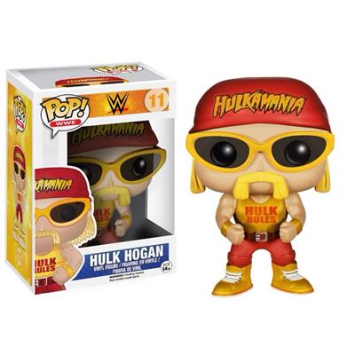 Funko Pop! Wrestling Hulk Hogan (Yellow Shirt) Stock